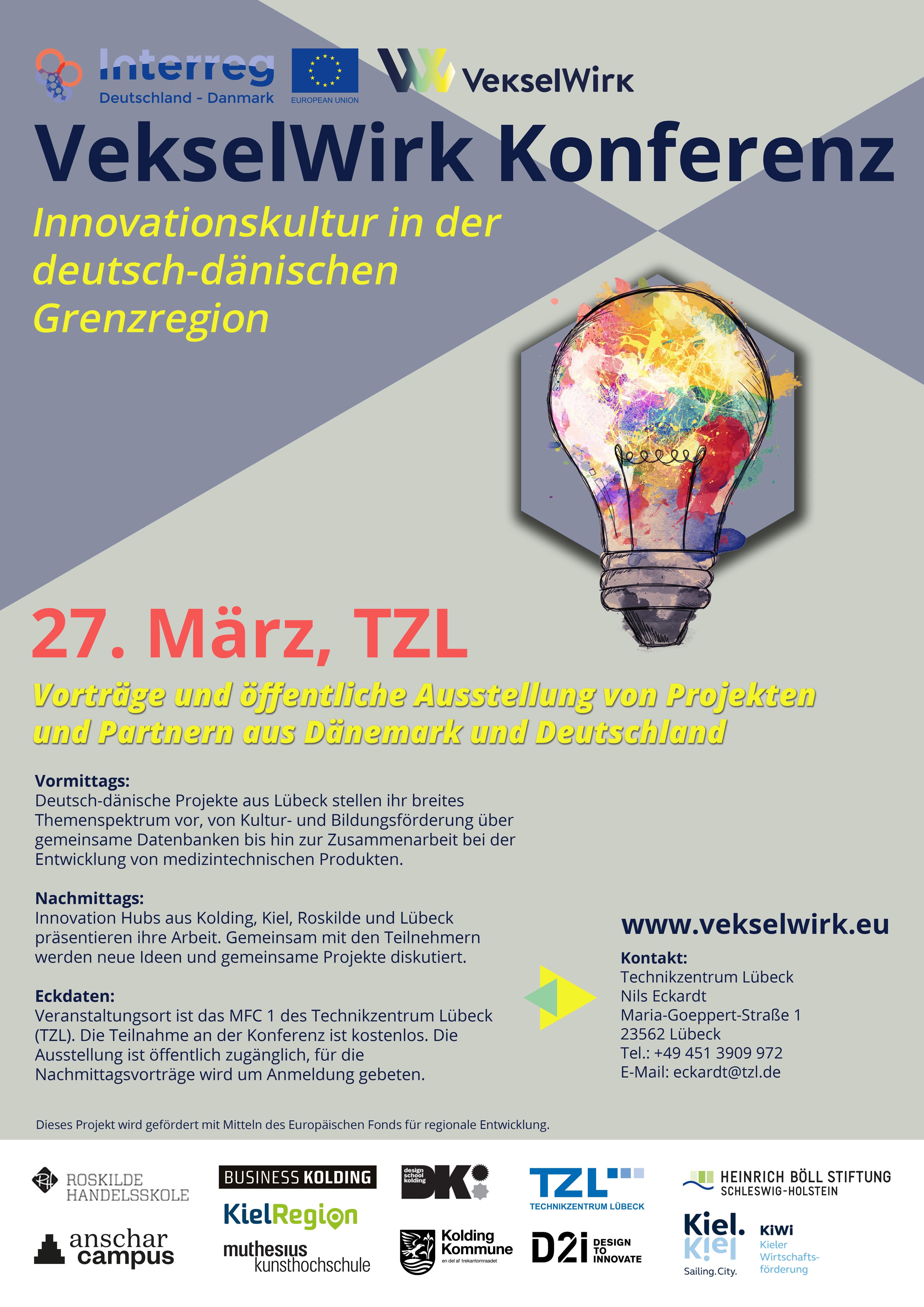 Plakat VekselWirk Konferenz